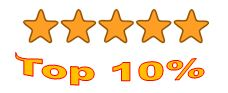 00 top 10 percent 5 stars