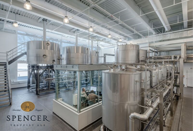 Spencer Brewery Brewhouse
