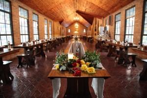 Dining Hall at St. Joseph's Abbey
