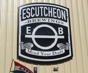 Escutcheon Brewing IMG_0317 Entrance Logo