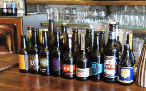 There's no shortage of really good beer in Athens.