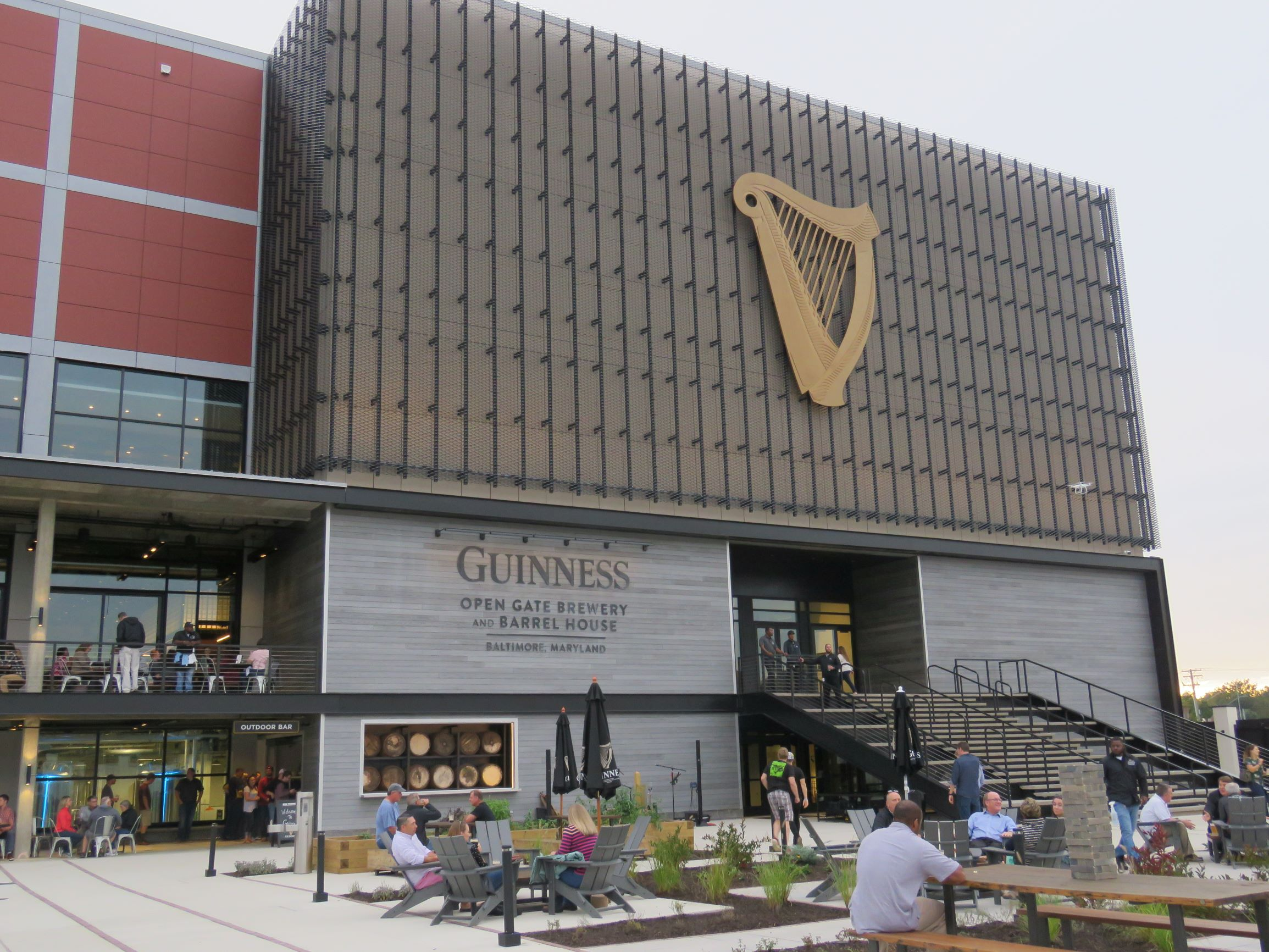 Guinness in America - in Baltimore, sort of.