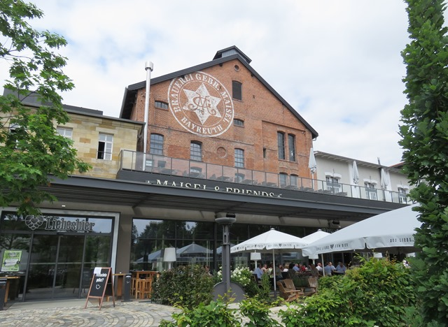 Maisel and Friends is a craft brewery within a large traditional regional brewery in Bayreuth.
