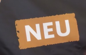 """Neu, or """"new"""" is the word of the day at the festival celebrating the 500th anniversary of the Reinheitsgebot."""
