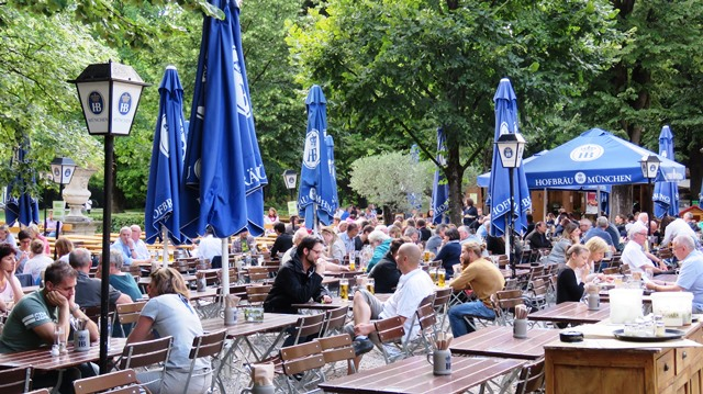 After the fest closes, those in the know continue the carousing at the Park Café's Biergarten that stays open until 1 AM
