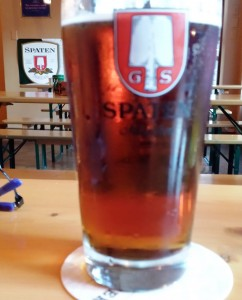 Spaten's historic, rather than authentic, Oktoberfest at Tyber Bierhaus in Bethesda, Maryland.