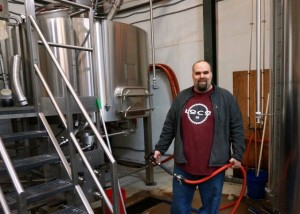 Head Brewer Dave Warwick has produced a wide range of excellent beers in Charlottesville's Three Notch'd Brewery