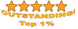 top 1 percent outstanding