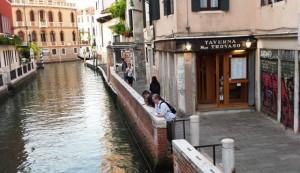 Venice's San Travaso Restaurant serves very good seafood at fair prices.
