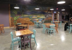 Winchester Brew Works's spacious taproom