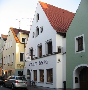 Winkler is one of several excellent breweries in the small town of Amberg Germany