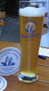 Winkler's Zoigl is one of Amberg's best beers.